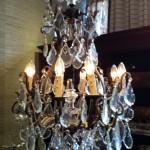 kristallen kroonluchter € 1850
