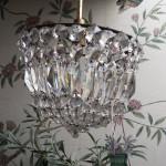 kristallen plafondlamp € 373