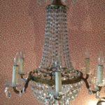 Kroonluchter kristal  € 1850
