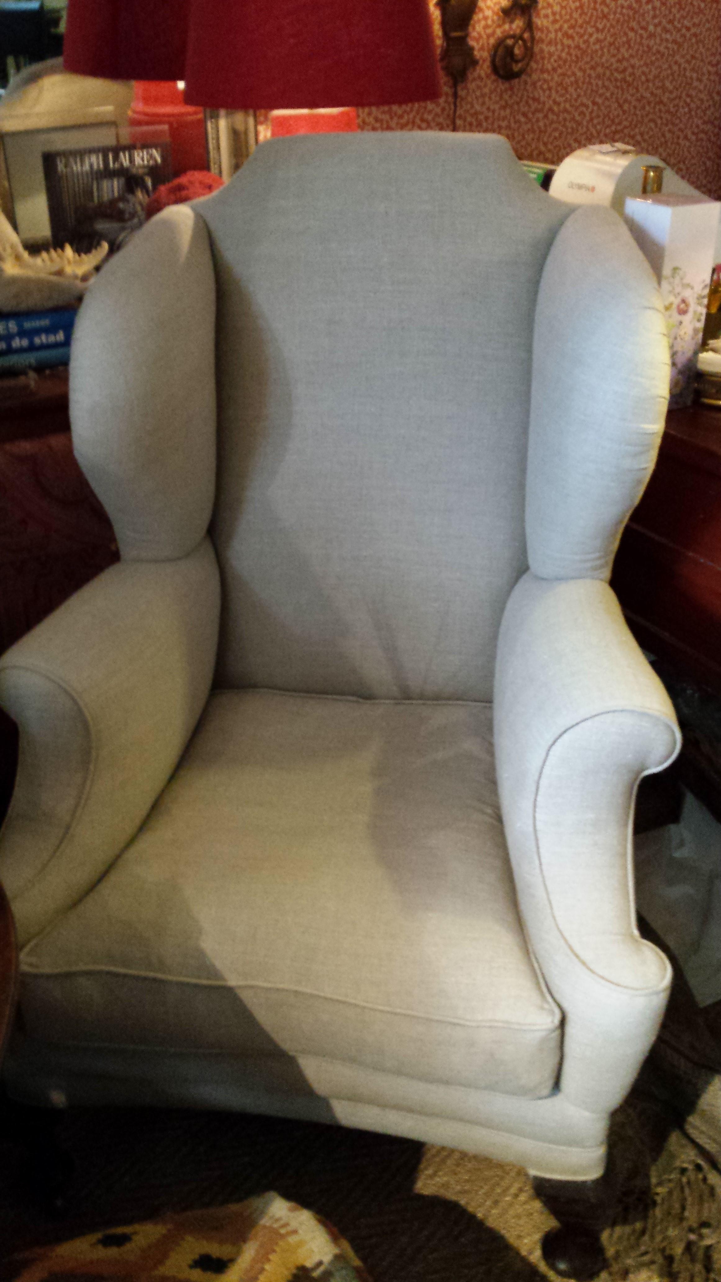 antieke wing chair  € 1250