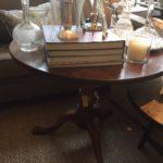tilt-top € 1050 Engels antiek mahonie